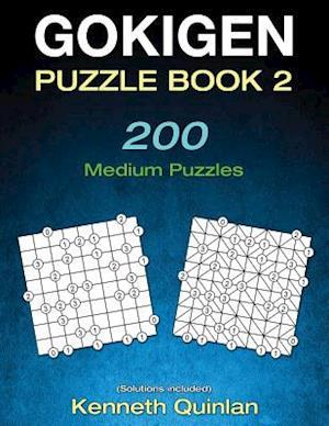 Bog, paperback Gokigen Puzzle Book 2 af Kenneth Quinlan