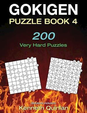 Bog, paperback Gokigen Puzzle Book 4 af Kenneth Quinlan
