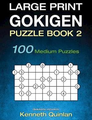 Bog, paperback Large Print Gokigen Puzzle Book 2 af Kenneth Quinlan