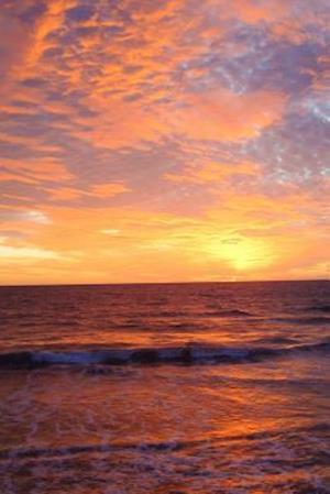 Bog, paperback A Romantic Mazatlan Sunset Mexico Journal af Cs Creations