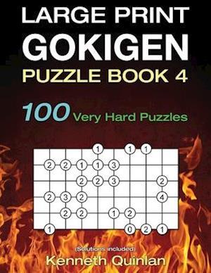 Bog, paperback Large Print Gokigen Puzzle Book 4 af Kenneth Quinlan