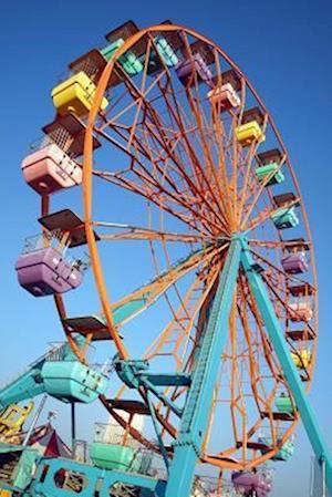 Bog, paperback Cool Colorful Ferris Wheel Amusement Park Journal af Cs Creations