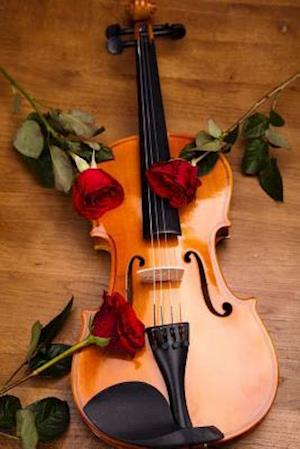 Bog, paperback A Violin and Three Red Roses Journal af Cs Creations