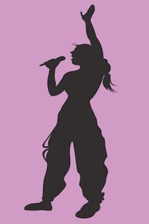 Bog, paperback Girl Singing Karaoke Journal af Cool Image