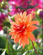 Mojo's Real Photos Coloring Book of Flowers ***The Enhanced Edition*** af Maureen Steward