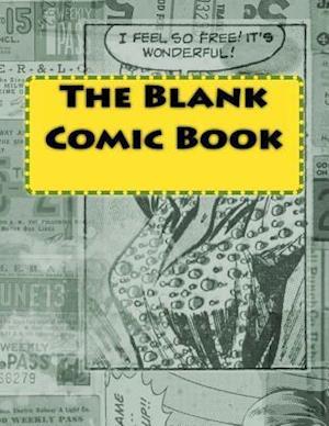 Bog, paperback The Blank Comic Book af One Jacked Monkey Publications