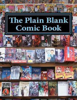 Bog, paperback The Plain Blank Comic Book af One Jacked Monkey Publications
