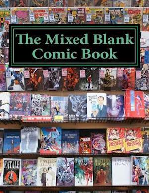 Bog, paperback The Mixed Blank Comic Book af One Jacked Monkey Publications
