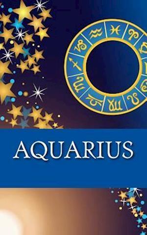Bog, paperback Aquarius af Horoscope Blank Notebook