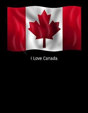 Bog, paperback I Love Canada af Passion Imagination Journals
