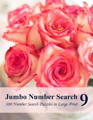 Bog, paperback Jumbo Number Search 9