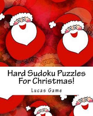 Bog, paperback Hard Sudoku Puzzles for Christmas! af Lucas Game
