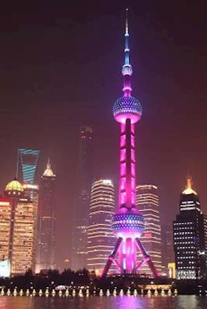 Bog, paperback Aerial View of the Shanghai Bund District Skyline at Night Journal af Cs Creations