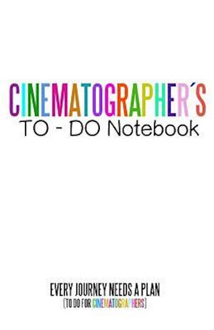 Bog, paperback Cinematographers to Do Notebook af Juan Sebastian Valencia
