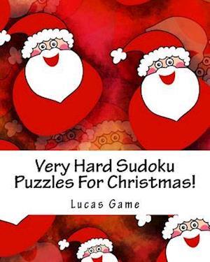 Bog, paperback Very Hard Sudoku Puzzles for Christmas! af Lucas Game