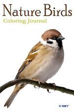 Nature Birds Coloring Journal