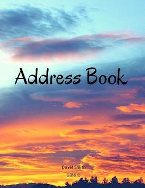 Bog, paperback Address Book af David Smith