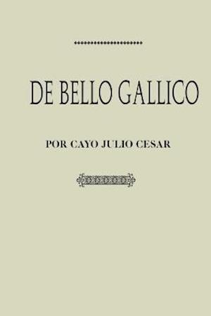 Bog, paperback Antologia Julio Cesar af Gaius Iulius Caesar