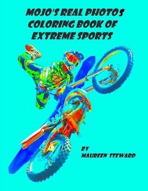 Bog, paperback Mojo's Real Photos Coloring Book of Extreme Sports af Maureen Steward