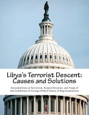 Bog, paperback Libya's Terrorist Descent af Nonproliferat Subcommittee on Terrorism