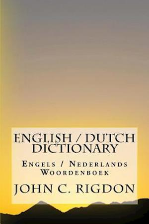 Bog, paperback English / Dutch Dictionary af John C. Rigdon