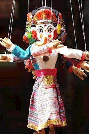 Bog, paperback Cool Ganesh Hindu Deity Marionette Journal af Cs Creations