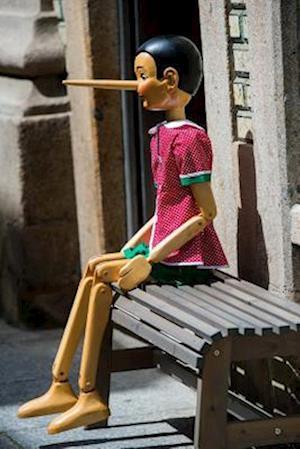 Bog, paperback Vintage Style Wooden Pinocchio Marionette Journal af Cs Creations