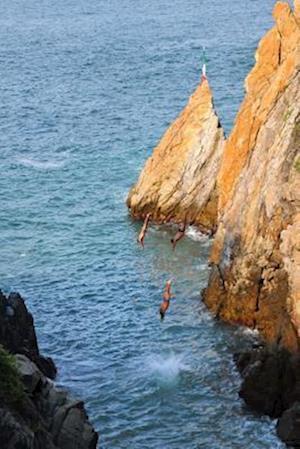 Bog, paperback Acapulco Cliff Divers Mexico Journal af Cs Creations