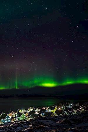 Bog, paperback Green Northern Lights in Greenland Journal af Cs Creations