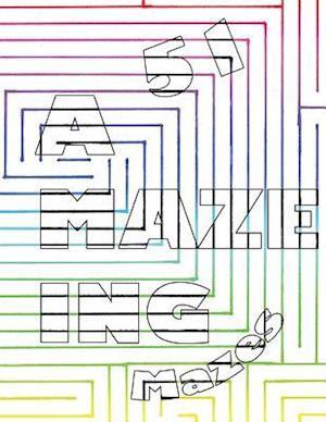 Bog, paperback 51 a Maze Ing Mazes af Michael Richard Fuller