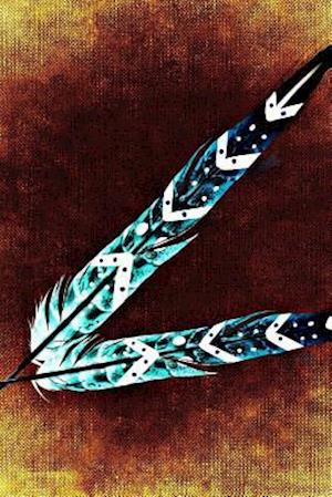 Bog, paperback Cool Painted Feathers 7 af Unique Journal