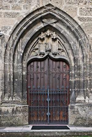 Bog, paperback Antique Wooden Church Door in Salzburg Austria Journal af Cs Creations