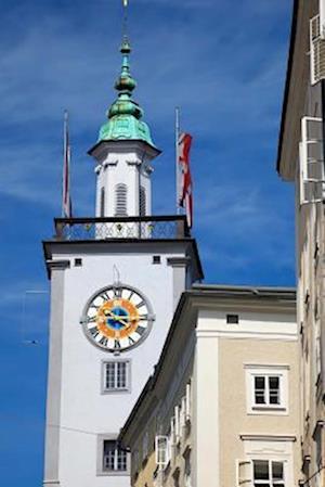 Bog, paperback Town Hall Tower in Salzburg Austria Journal af Cs Creations