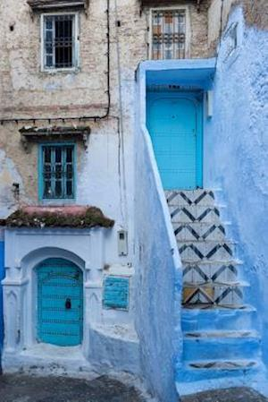 Bog, paperback Blue City of Chefchaouen in Morocco Journal af Cs Creations