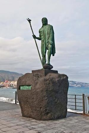 Bog, paperback Guanches Indian Statue Plaza de La Patrona de Canarias at Candelaria Journal af Cs Creations