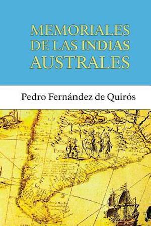 Bog, paperback Memoriales de Las Indias Australes af Pedro Fernandez De Quiros