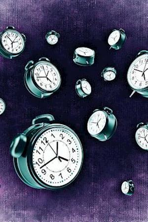 Bog, paperback Cool Alarm Clocks on Purple af Unique Journal