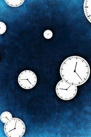 Bog, paperback Cool Clock Faces on Blue af Unique Journal