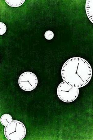 Bog, paperback Cool Clock Faces on Green af Unique Journal