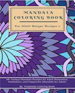 Mandala Coloring Book for Adult Unique Designs