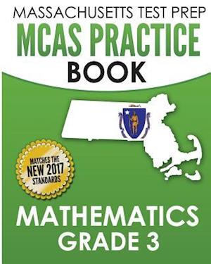 Bog, paperback Massachusetts Test Prep McAs Practice Book Mathematics Grade 3 af Test Master Press Massachusetts