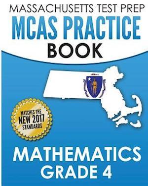 Bog, paperback Massachusetts Test Prep McAs Practice Book Mathematics Grade 4 af Test Master Press Massachusetts