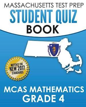 Bog, paperback Massachusetts Test Prep Student Quiz Book McAs Mathematics Grade 4 af Test Master Press Massachusetts