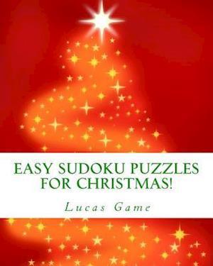 Bog, paperback Easy Sudoku Puzzles for Christmas! af Lucas Game