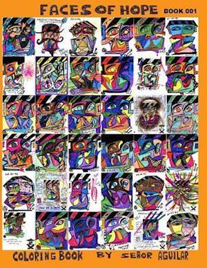 Bog, paperback Faces of Hope Coloring Book af Ricardo Aguilar
