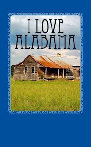 Bog, paperback I Love Alabama af Travel Books