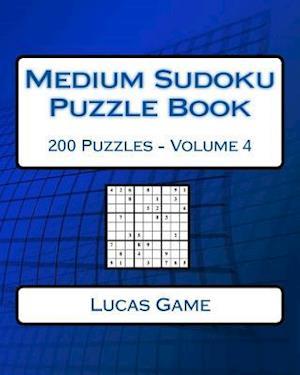Bog, paperback Medium Sudoku Puzzle Book Volume 4 af Lucas Game