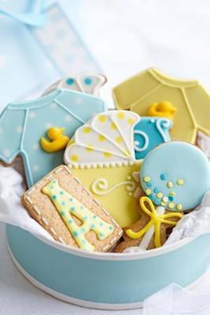 Bog, paperback Baby Shower Cookies Journal af Cool Image