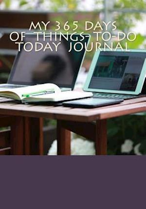Bog, paperback My 365 Days of Things to Do Journal af Elizabeth Cole