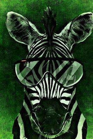 Bog, paperback A Zebra with Glasses af Unique Journal
